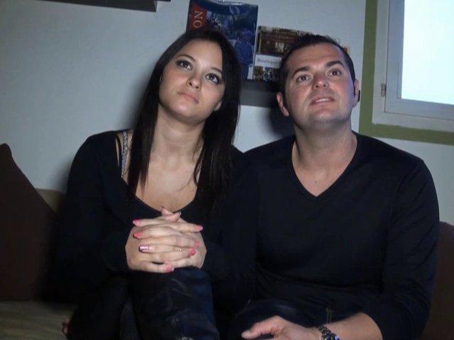 Un couple amateur tourne sa première vidéo
