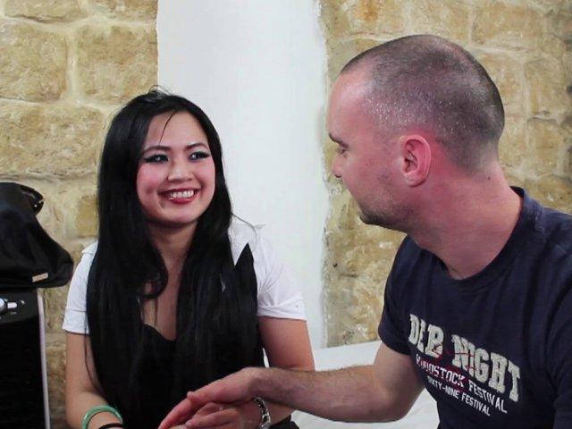 Lucie une Eurasienne qui veut faire parler d'elle